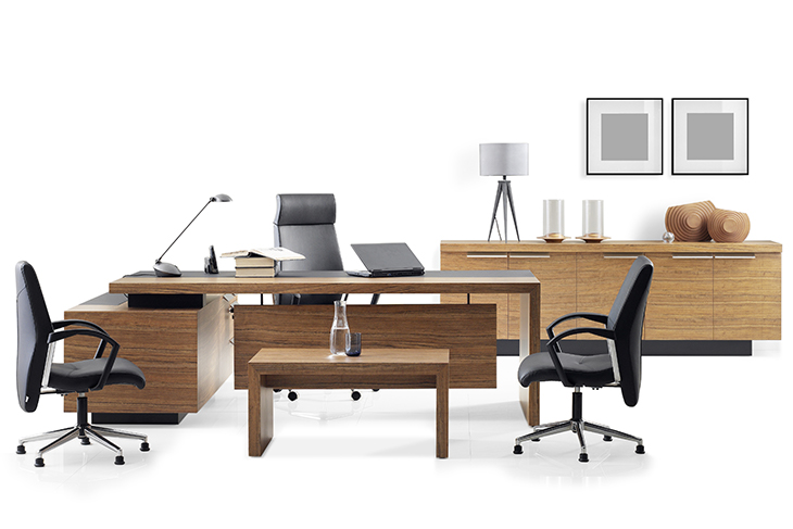 VIP office furniture on a white background