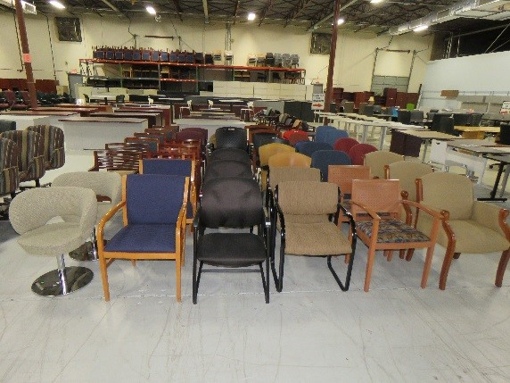 chair inventory room