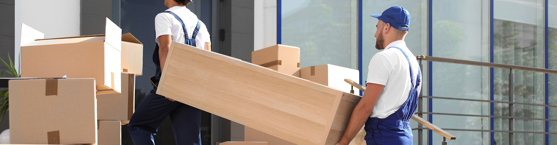 Carolina Office Solution delivery man delivering office furniture